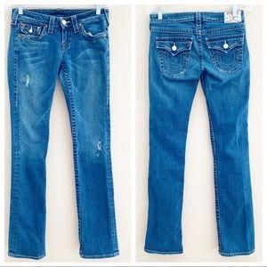 True Religion Billy Straight Flap Jeans